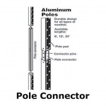 Aluminum Insert (Pole Connector)