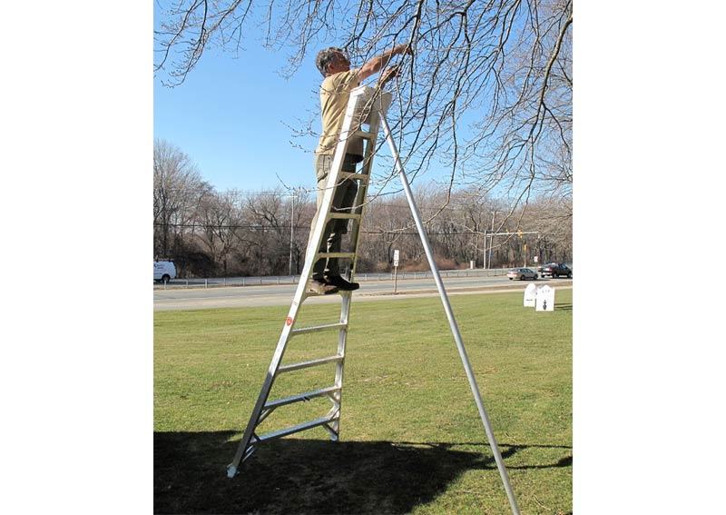 Aluminum Tripod Orchard And Landscaping Ladder Advanced
