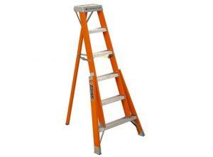 Heavy Duty Fiberglass Tripod Ladder