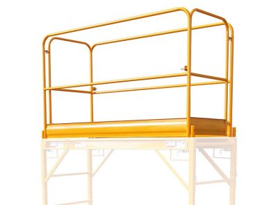 Guard Rails for Multi-Function Scaffold