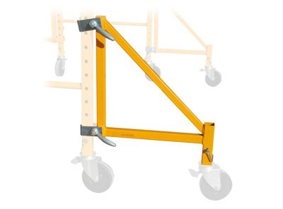 Wide Outriggers for Multi-Function Scaffold