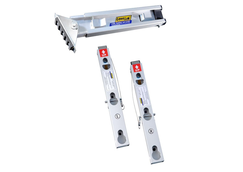Self Leveling Scaffolding : Levelok ladder leveler quick connect advanced ladders