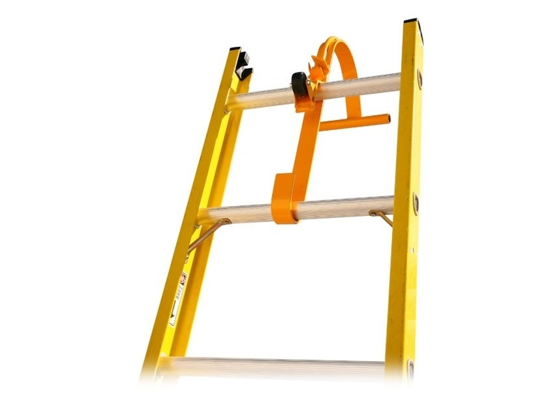 Ladder Roof Hook With Wheel 1