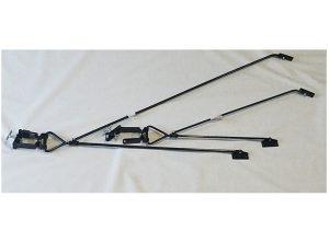 Full-Swivel Steel Extra Long Pump Jack Brace