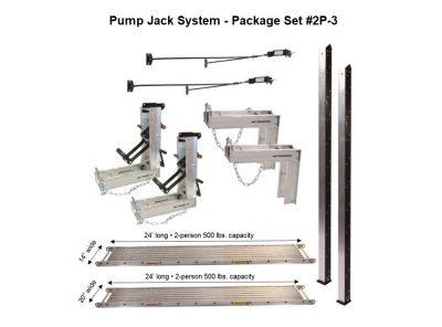Package 2P-3 with (1) 14″W x 24'L and (1) 20″W x 24'L Plank — for 24'H x 24'L projects