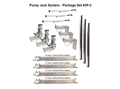 Package 3P-2 with (4) 20″W x 24'L Planks — for 24'H x 48'L projects
