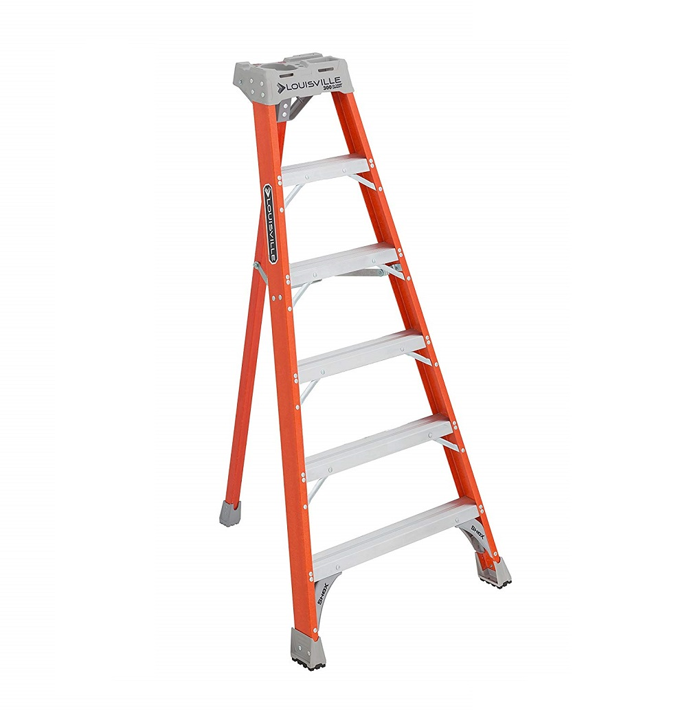 Fiberglass Tripod Ladder 300 Lbs Duty Rating Advanced